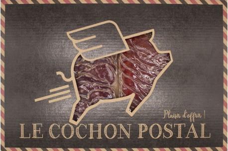 Le cochon postal